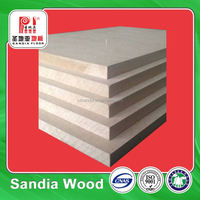 Little Linear Expansion Coefficient Melamine Faced Waterproof MDF 18MM