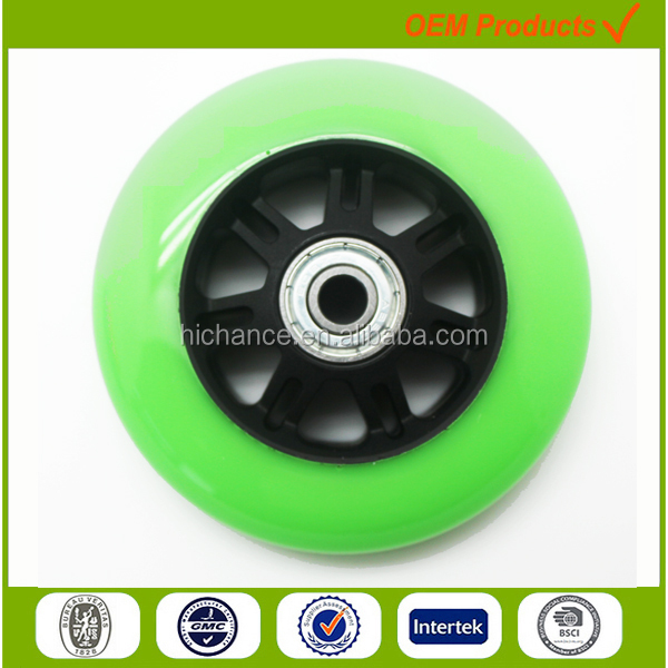 plastic electric skateboard wheel