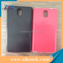 2 in 1 Sublimation blank cell phone cover case for Samsung Note 3