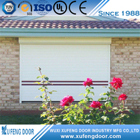 High-Grade Secure Motorized Residential Manual Rolling Shutter
