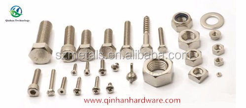 decorative screws and nuts