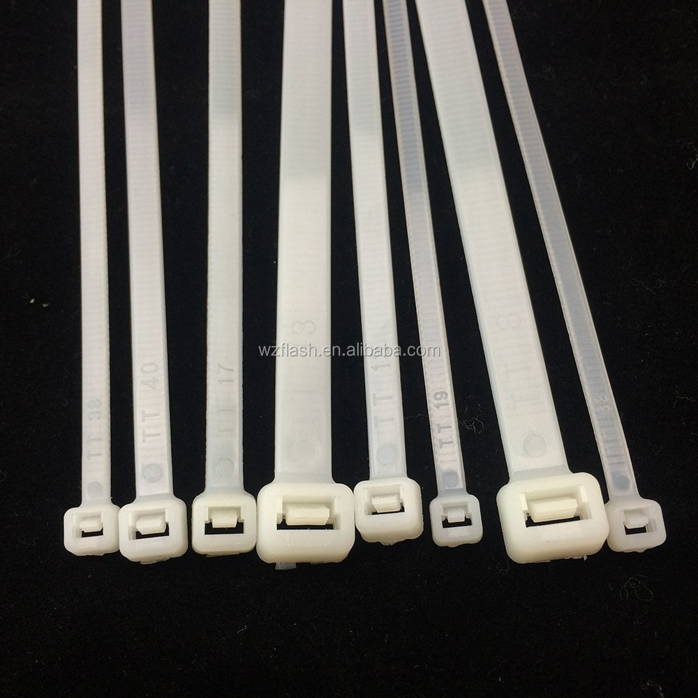 Good Quality High Temperature Resistant Self-locking Nylon Cable Tie Manufacturers