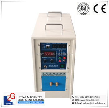 5KW High Frenquency Induction Heating Machine for brazing/welding/quenching/annealing