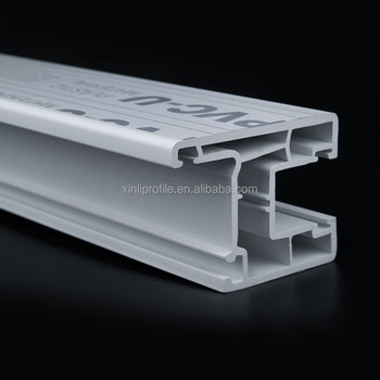 China factory Extrusion upvc profile for upvc window and door