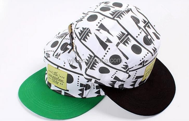 China Factory Wholesale Unstructured 5 Panel Hat With Affordable Price