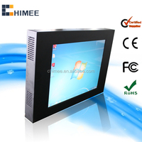 17inch lcd touch display media pc