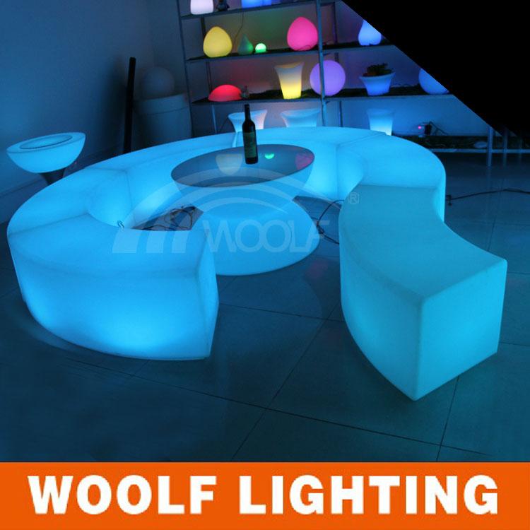 Portable Led Floor Nightclub Seating Chairs Buy