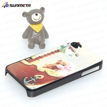 Blank phone case with aluminum sheet for IPHONE4 for sublimation printing