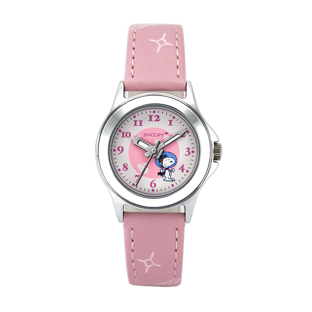 Hot selling many color available leather band good quality kid watch for children watch with box