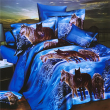 Duvet Quilt Cover Yiwu American Style Home Textile Hotel 3D 100% Polyester Cotton Living Room Kids Comforter Sheet , Bedding Set