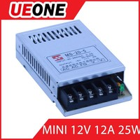 Universal AC Input 25W MINI single output 12v 2a open frame switch power supply