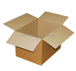 5 layer corrugated shipping box with logo print
