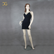 cheap big chest standing female fibeiglass mannequin for sale