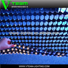 alibaba express soft/transparent LED strip lighting curtain screen