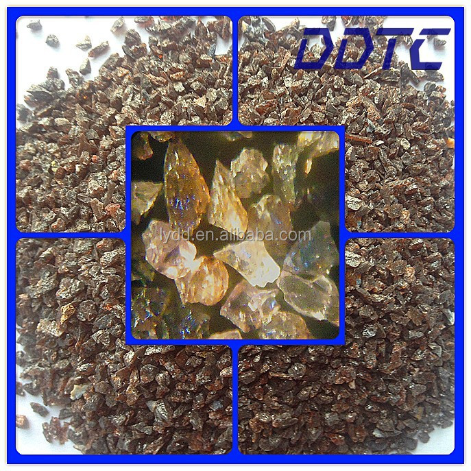 P Grade Abrasive Polishing Grains Brown Aluminum Oxide for Abrasive Sanding Belts Manufacturing Works