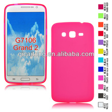 mobile phone pudding TPU case for SAM G7106/Galaxy Grand 2