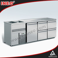 Restaurant And Hotel Commercial Stianless Steel Bar Beer Table Or Wine Counter