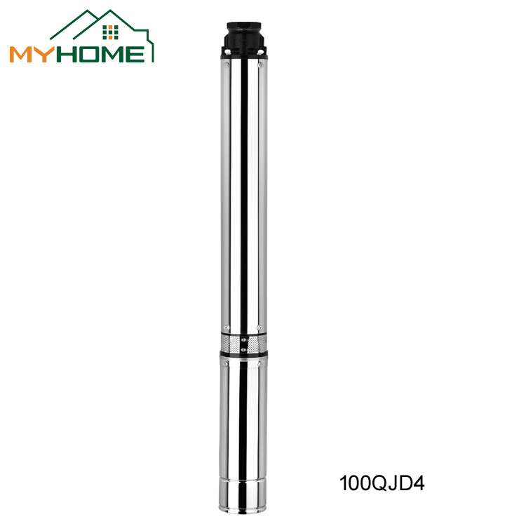 100QJD4 Internal mounted deep well submersible pump