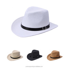 2014 Western Mexican Cheap Plain Wholesale Straw Cowboy Hats
