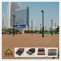 2015 hot SALE wood plastic composite decking floor wpc board price MADE IN CHINA