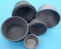 High Temperature Silicon carbide crucible/buy direct from China factory