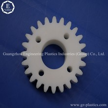 spur gear plastic polyamide material nylon spur gear