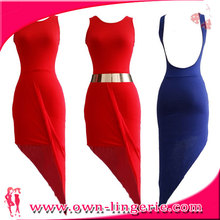 Going Wedding bodycon dress red