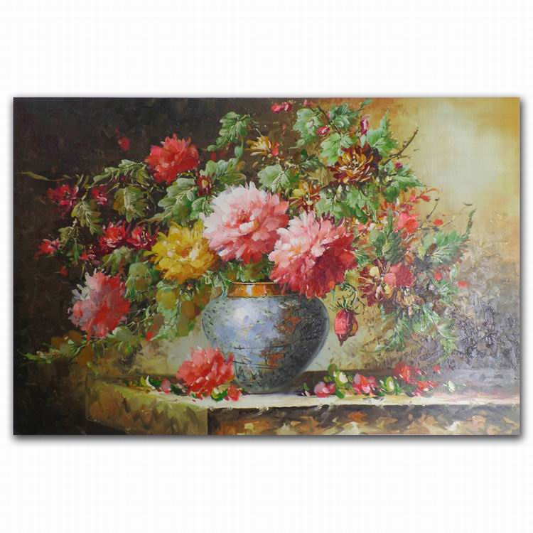 DEYI Handpainted Type modern flower handmade oil painting