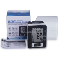 Medical Blood Pressure Level Test Device Wrist Blood Pressure Monitor Accurate Fast Measurement Digital BP Meter Cheap Price