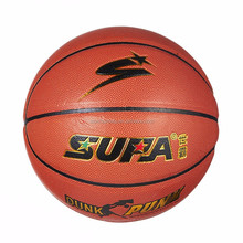 Newly light up basketball PU laminated Factory supply