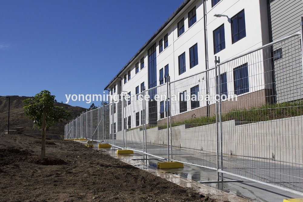 Factory direction sale temporary fence 6ft chain link fence