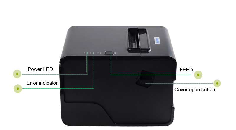 New Product 80mm Thermal Receipt Printer Machine USB Printer POS