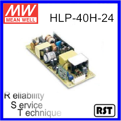 HLP-40H-24 Single Output Mean Well 40W 24V Switching Power Supply