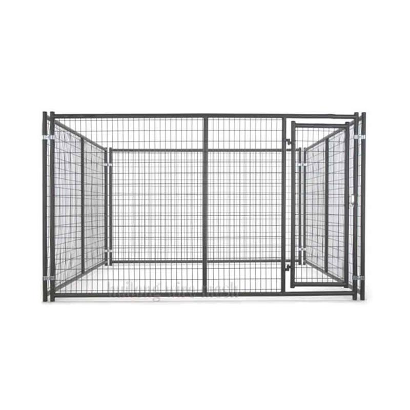 Huilong factory unique iron fence cheap welded mesh dog kennel 26 years welded technology