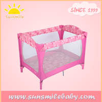 BS5882 baby rocking bed / european baby play yard / OEM factory supply playpen baby