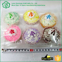 Newest selling simple design simulation friut cake in many style