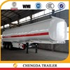 Good quality 3 Axle 42000L Liters carbon steel fuel tank trailer/capacity fuel tank truck