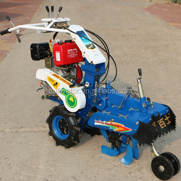 9hp diesel engine power weeder for potato ridger