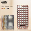 Electroplated TPU Diamond Agate Phone Case For iPhone 5 5s 6
