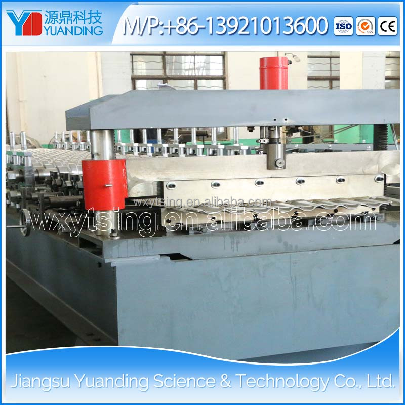 Hot Sale Passed CE&ISO YTSING-YD-9997 Corrugated Profile Metal Roof Tile/Sheet Making /Roll Forming Machine