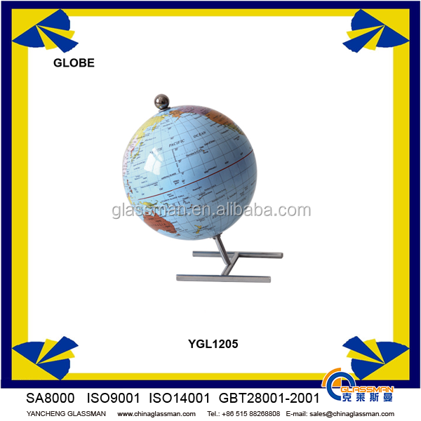 Customized beautiful world globe YGL1205