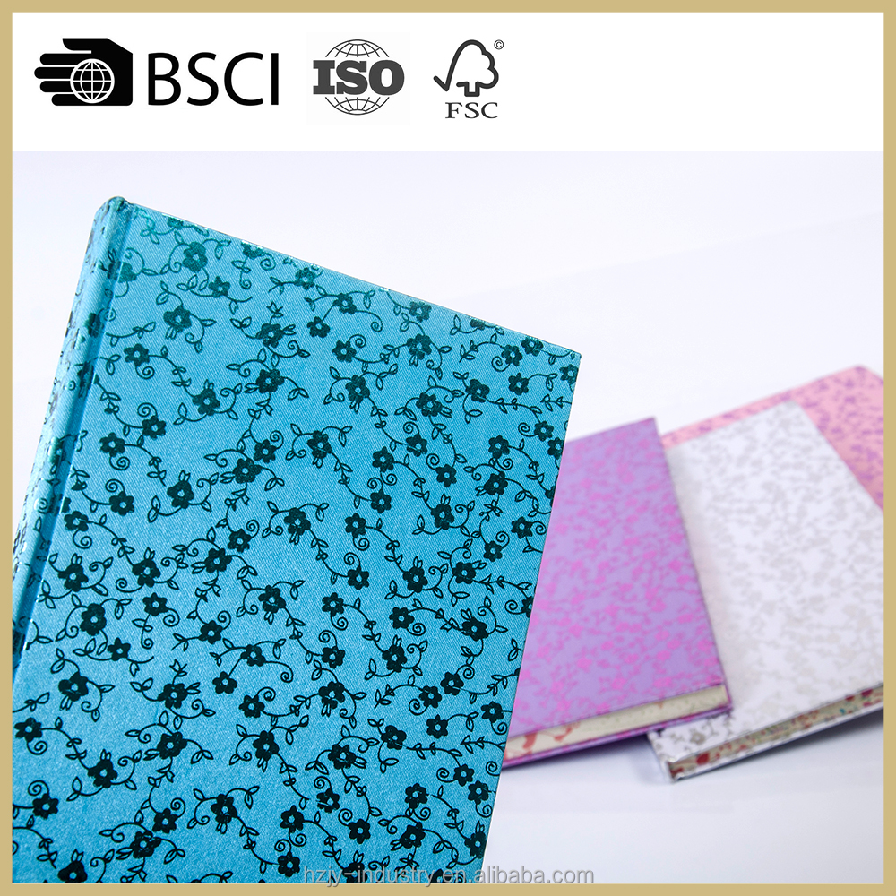 innovation 2017 a5 notebook, fabric notebook, fabric covered notebook