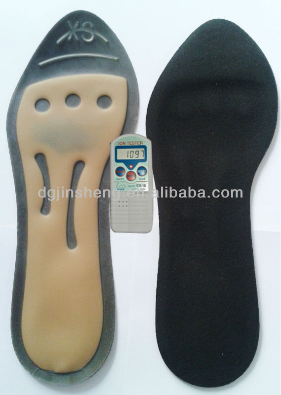 2016 energy insole Negative Ion liquid filled insoles