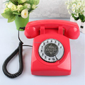 Vintage Table Phone Old Style Home Sim Telephone Set