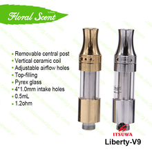 Wholesale Cheap Good Quality Ceramic Coil Dry Herb Drip Tips Vaporizer Cartridge