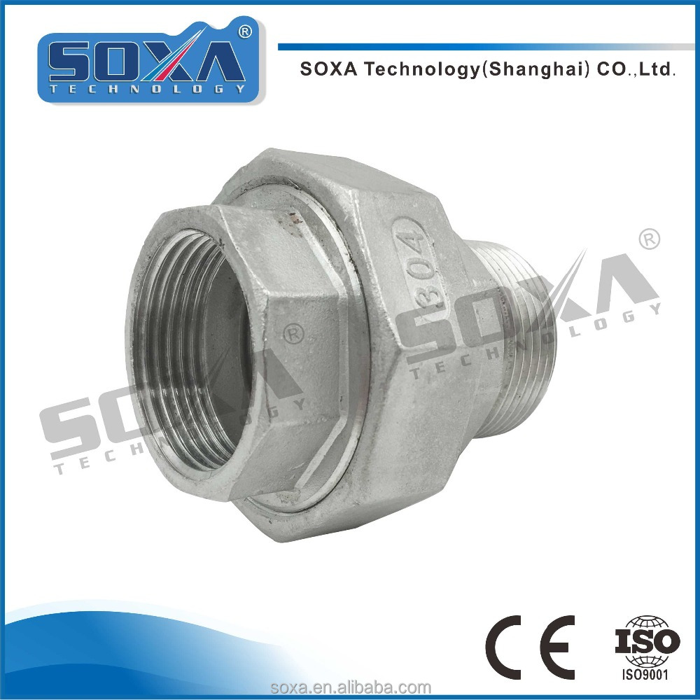 Manufacturer price 304 ss female connecting bushing with high quality