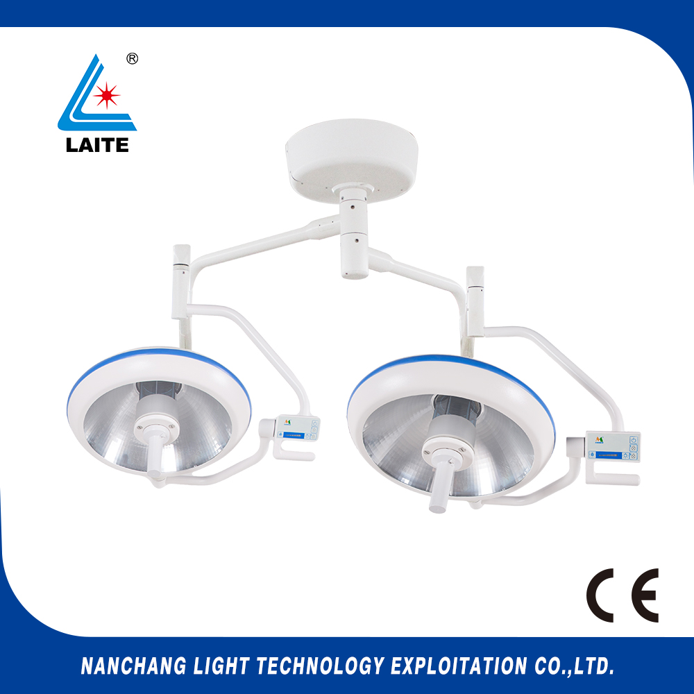 D700/500 Professional Manufacturer double head ceiling Overall Reflection Operating Theatre Light