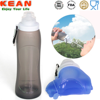 Wholesale promotion colorful large capacity water bottle silicone sleeve