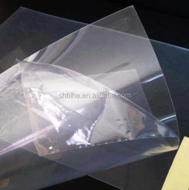 hot sale rigid pvc thin plastic sheet