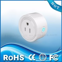 Factory wholesales compact design mini wifi smart socket wifi smart wall outlet